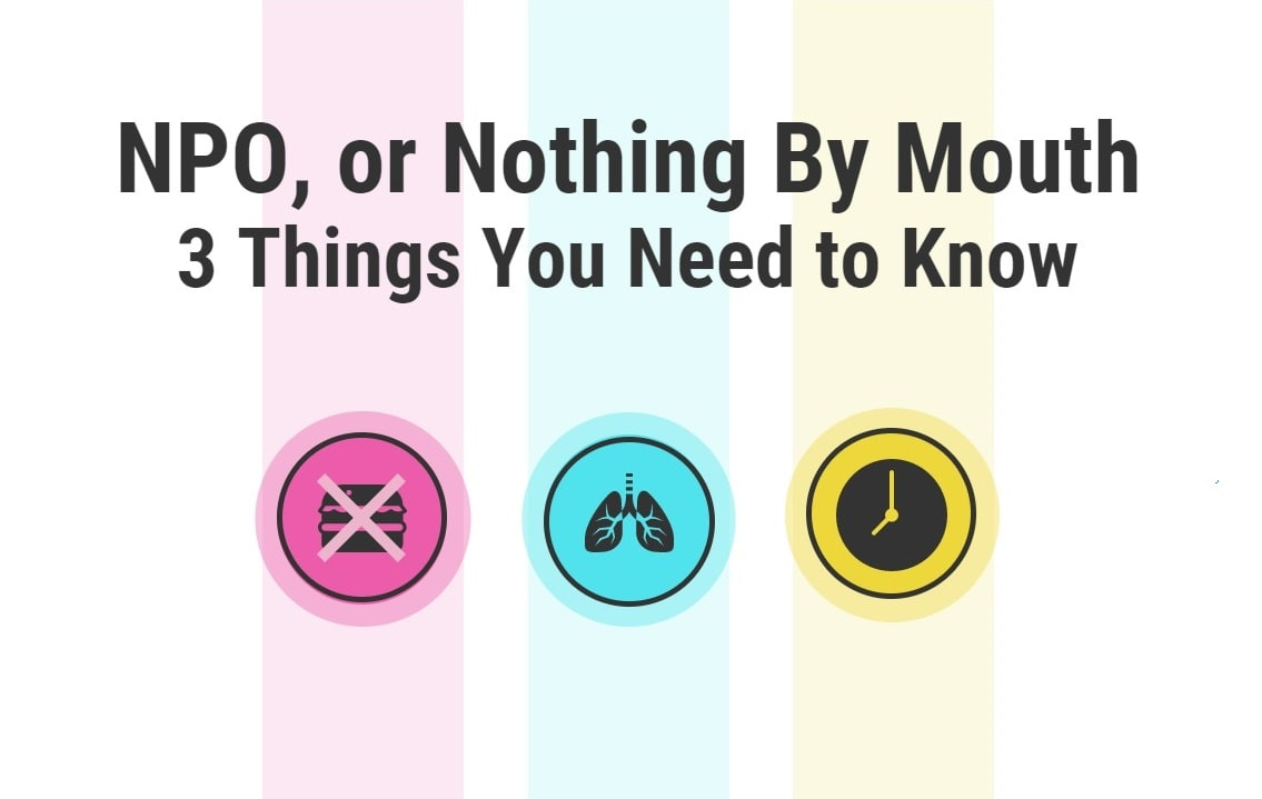 NPO, or Nothing By Mouth: 3 Things You Need to Know